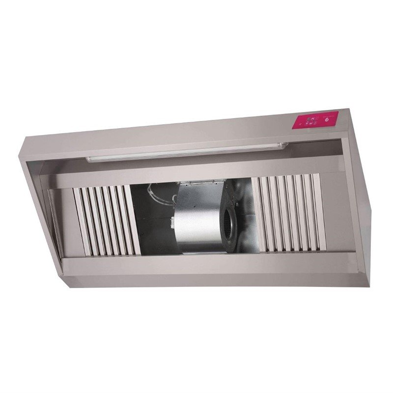 Hotte inox complète Gastro M 2000 x 900 x 450mm