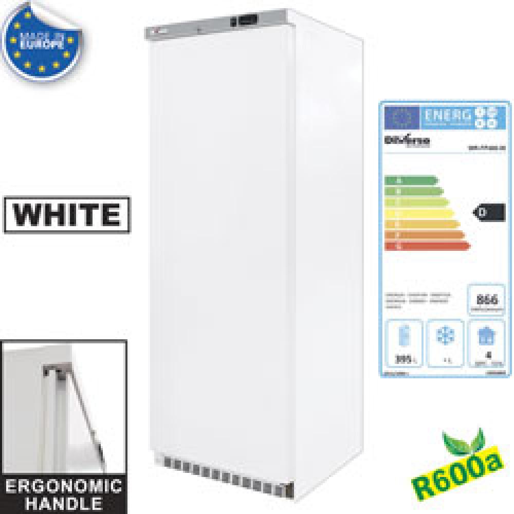 Armoire frigorifique, ventilée, 400 Litres, en Blanc