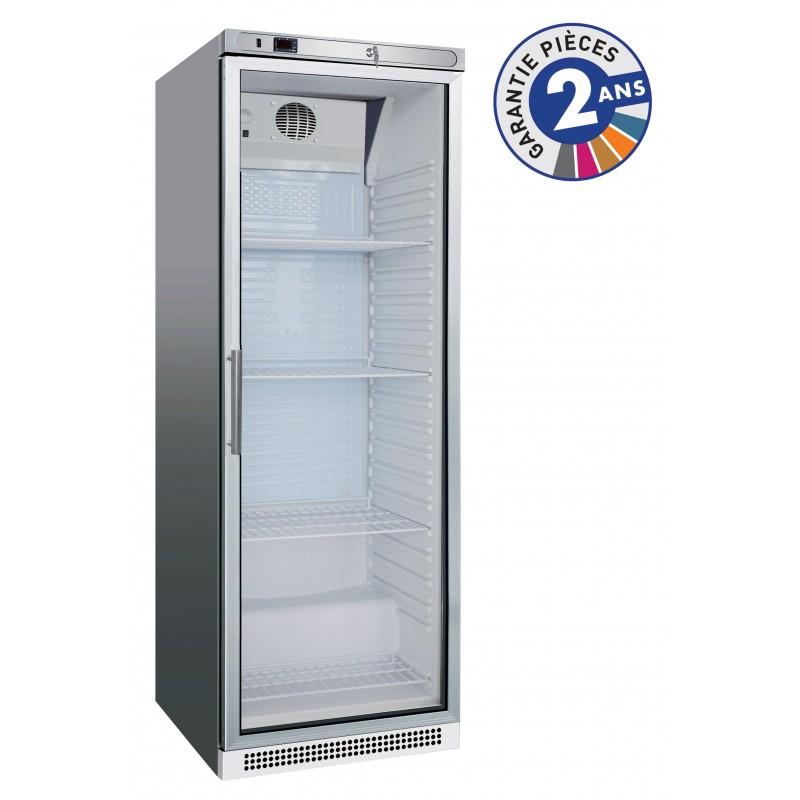 Armoire réfrigérée positive - 1 porte vitrée - 400 L