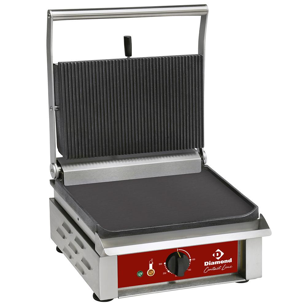 Contact-grill MEDIUM, plaques émaillées