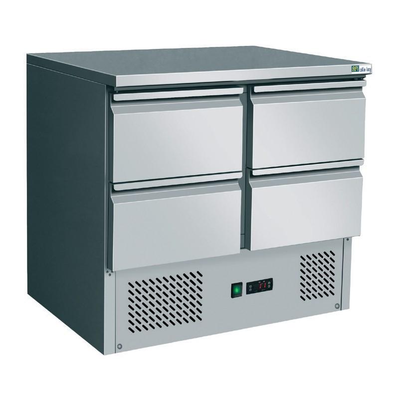 Table réfrigérée - 4 tiroirs GN 1/1 - 250 litres