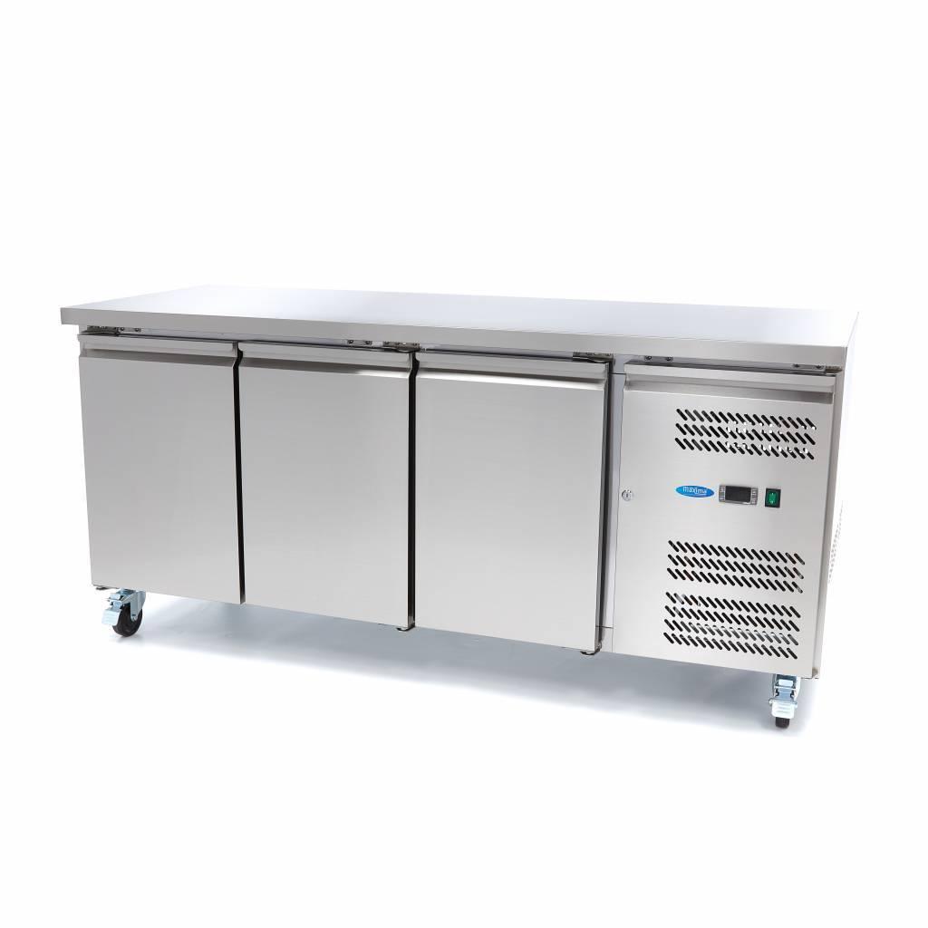 Table réfrigérée - 3 portes - positives