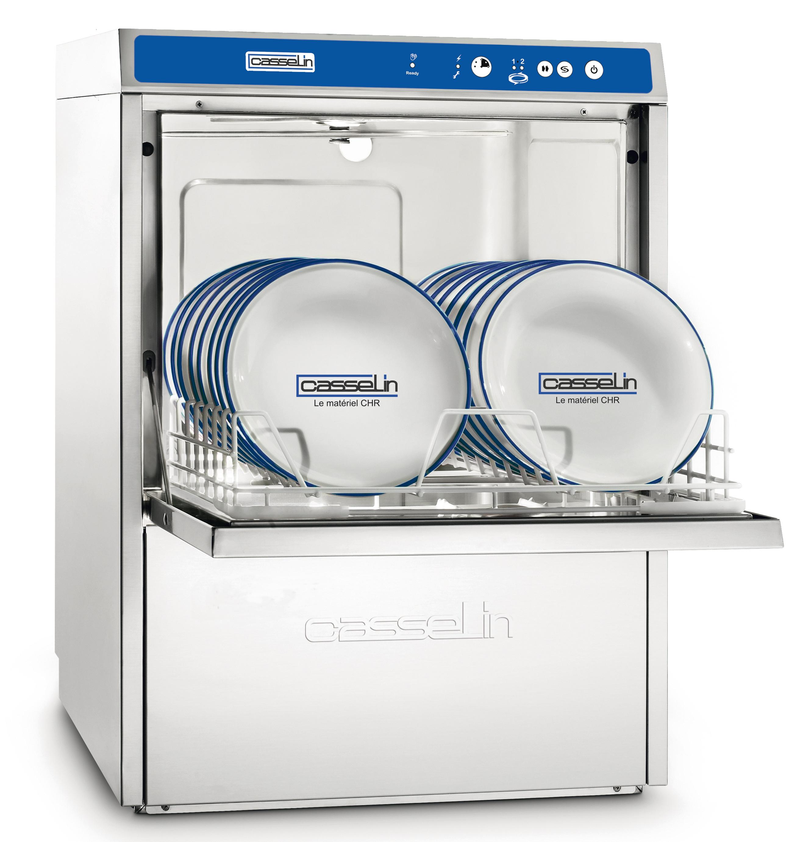 Lave-vaisselle Double paroi avec adoucisseur et pompe de vidange intégrés