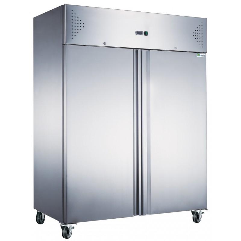 Armoire réfrigérée positive +2°C +8°C - 2 portes pleines - 1400 litres - Série Star
