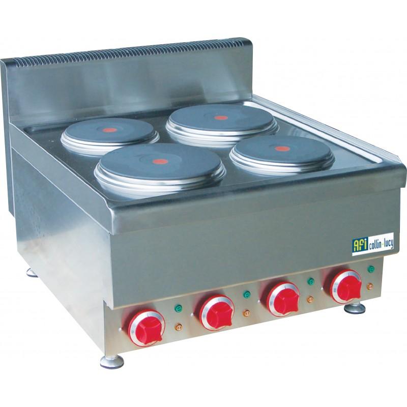 Plaque électrique - 4 zones de cuisson - Top 650