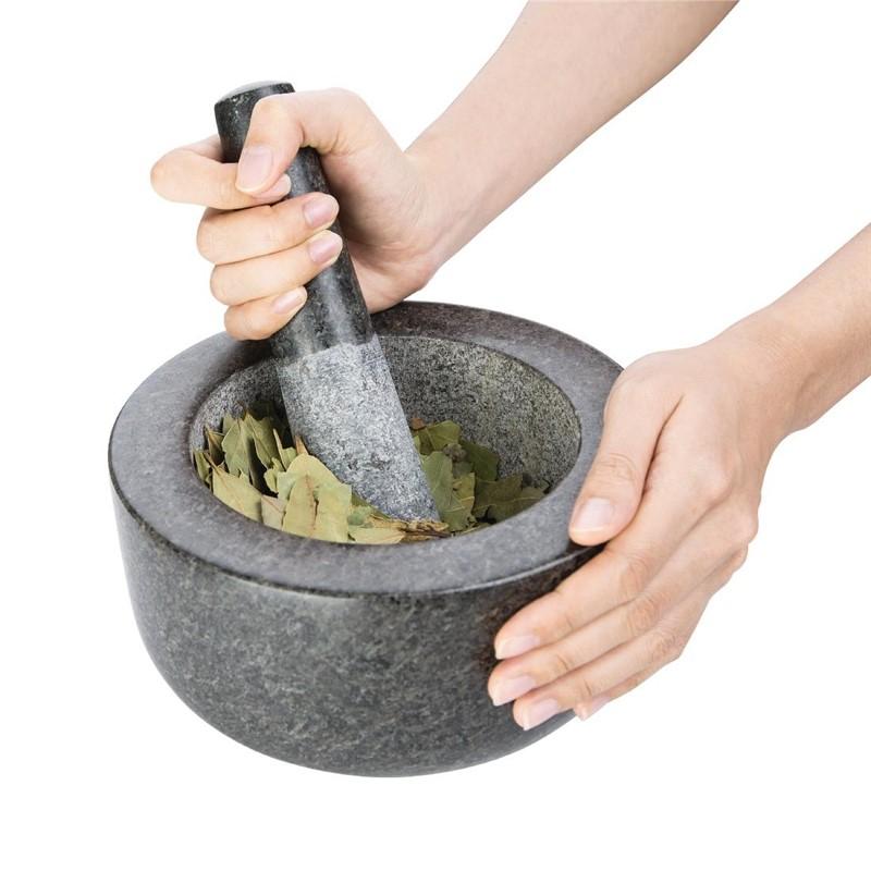 Pilon et mortier en granite