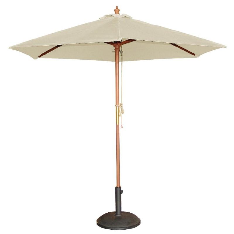 Parasol rond Bolero écru 2,5m