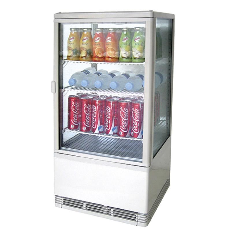 Mini Vitrine Réfrigérée 70 litres - 3 Etagères - 70 L - Virtus