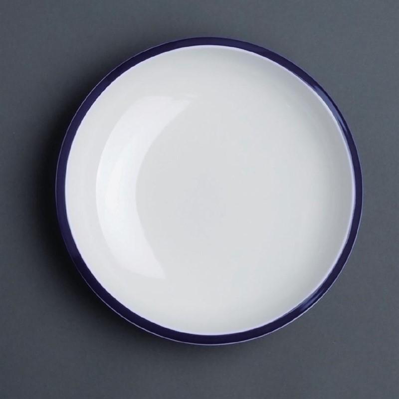 Assiette à pâtes en porcelaine Olympia Brighton 220mm