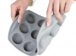 Plaque flexible en silicone 12 cupcakes